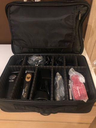Maletin/maleta peluqueria/barberia VACIO