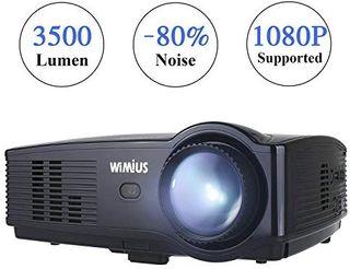 Proyector, WiMiUS Proyectores LED 3500