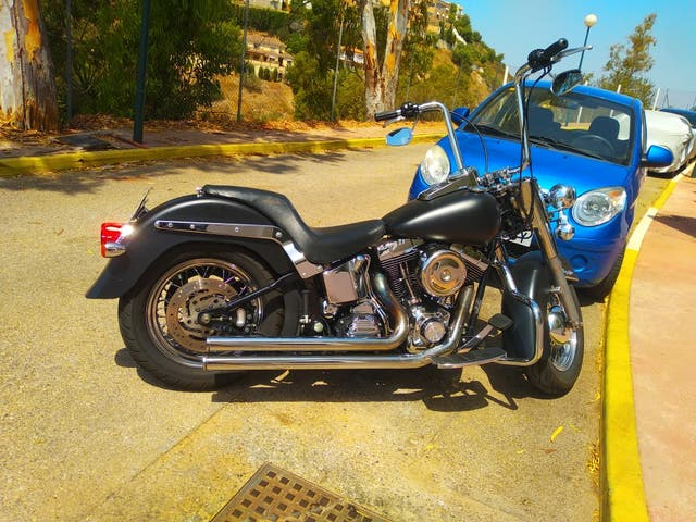 asiento Harley softail