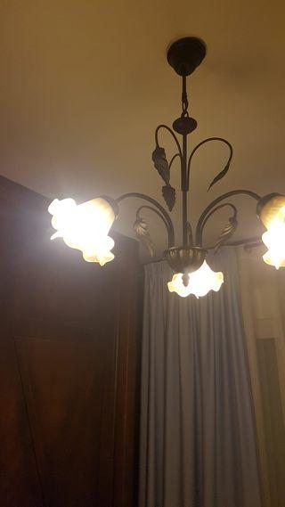 juego de lámparas dormitorio.