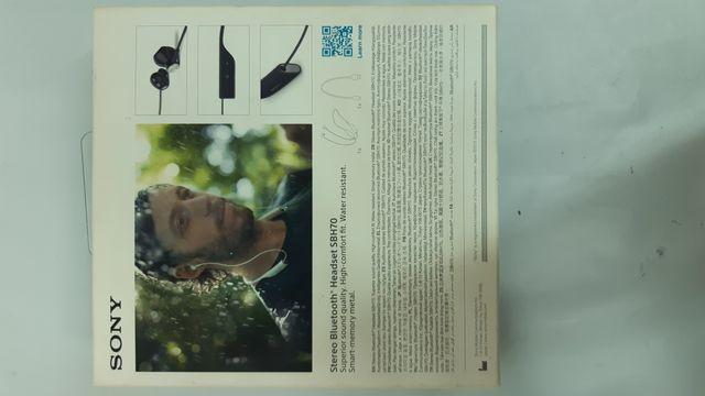Auriculares bluetooth de cuello Sony SBH70