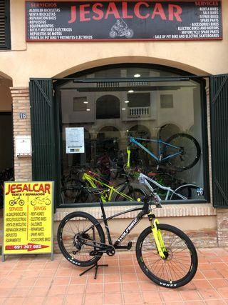 Bicicleta MTB WOLFBIKE