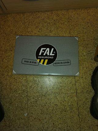zapatillas de protección con punta de hierro