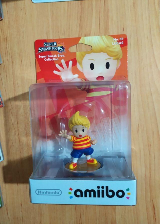 Amiibo Moñeco Lucas Smash