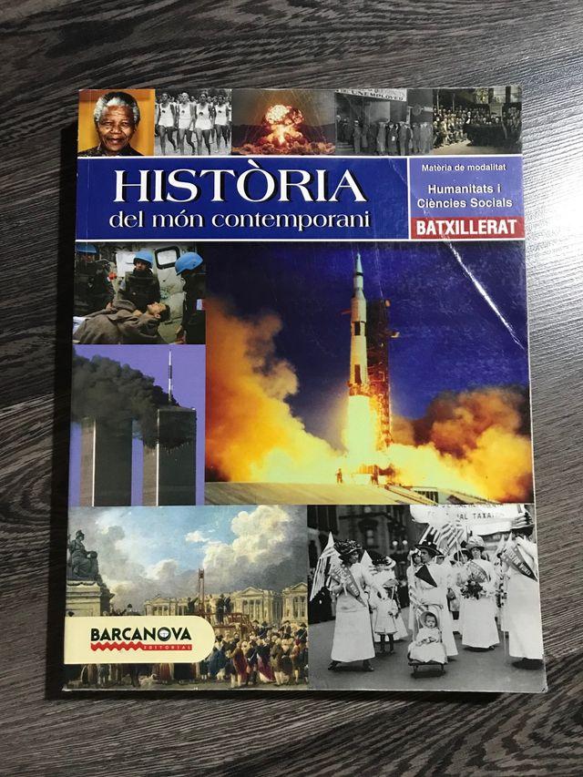 LLIBRE HISTÒRIA DEL MÓN COMTEMPORANI BATXILLERAT