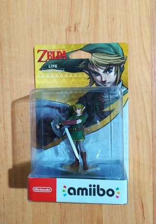 Amiibo Zelda Link Twilight Princess