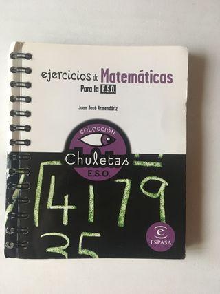 Ejercicios de Matemáticas para la ESO