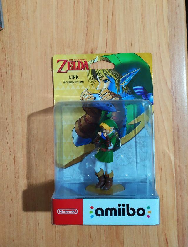 Amiibo Zelda Link Ocarina