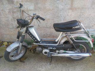 moto puch x40