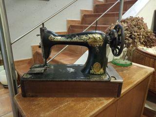 màquina coser decoración