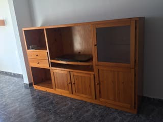 Mueble TV en madera de pino