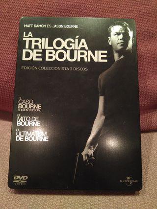La trilogía de Bourne, en DVD