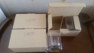 24 Vasos / Copas auténtico cristal de Bohemia