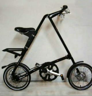 Bicicleta plegable Strida 5 .