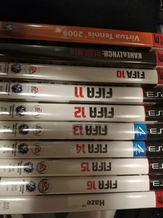 vendo ps3 mas 17 juegos