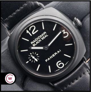 PANERAI Radiomir Black Seal Cerámica 292 FULL SET