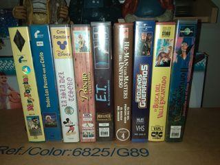 Lote películas Disney
