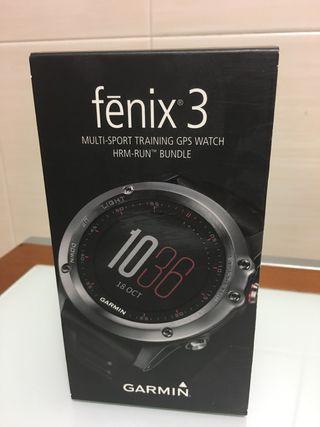 Garmin Fenix 3 con banda HRM-RUN