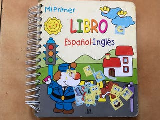 Mi primer libro español inglés