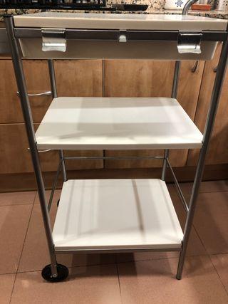 Carrito auxiliar cocina Ikea