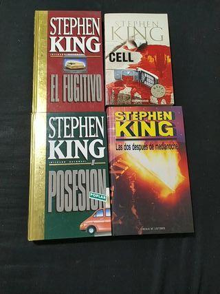 9 Libros de Stephen King