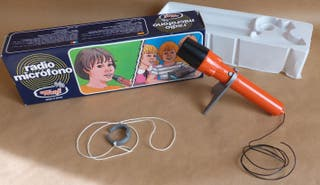 Micrófono de juguete