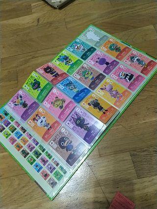 album serie 1 cartas amiibo animal crossing