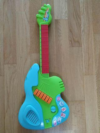 guitarra infantil, juguete
