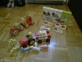 Lote juguetes + 18 meses