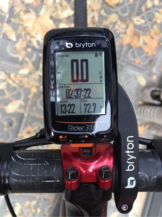 GPS bryton rider 310E y soporte