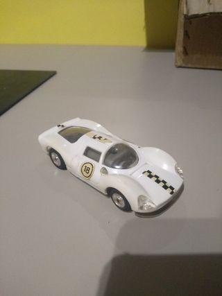 antiguo coche Lamborghini Scalextric anos 60-70