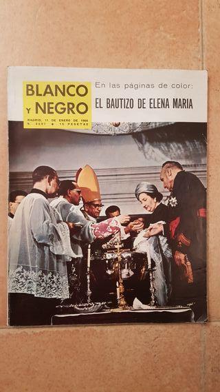 revista blanco y negro 1964