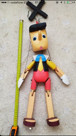 Marioneta pinocho