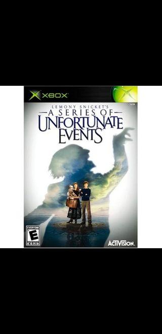 A Serie of Unfortunate Events Xbox