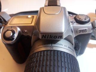Cámara analógica Nikon F65
