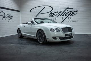 Bentley Continental w12 gtc 2013