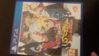 Juego Naruto ps4