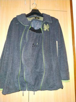 abrigo de porteo/embarazada