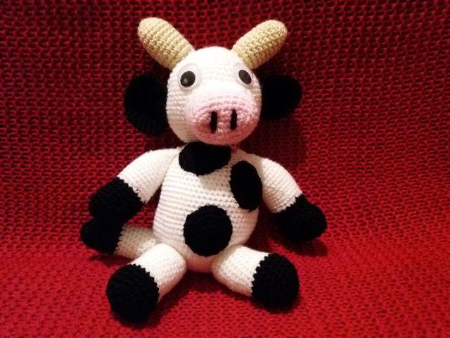 Vaca amigurumi   Etsy   480x640