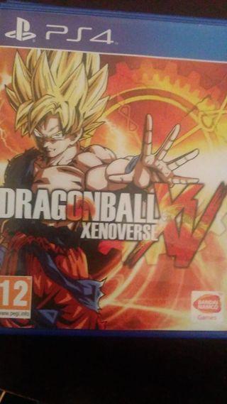 Juego dragon ball ps4