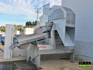 Limpiadora - Lavadora de aceitunas de demostracion