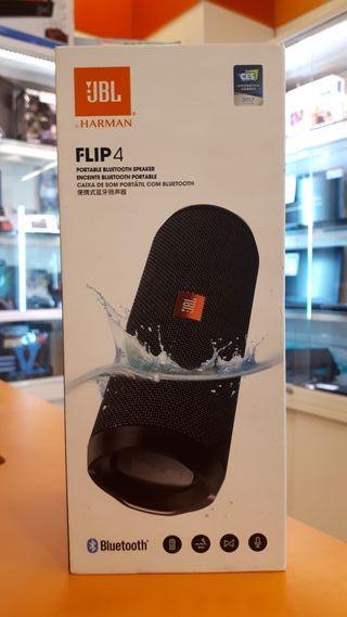 Altavoz JBL flip 4 + caja