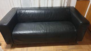 Sofá 3 plazas de piel