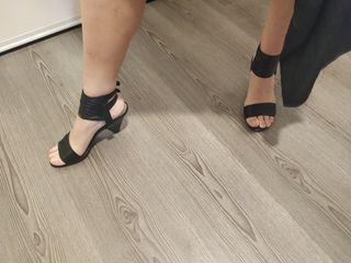 sandalias tacón Zara