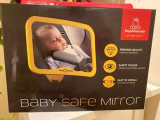 Espejo retrovisor para vigilar bebe en coche