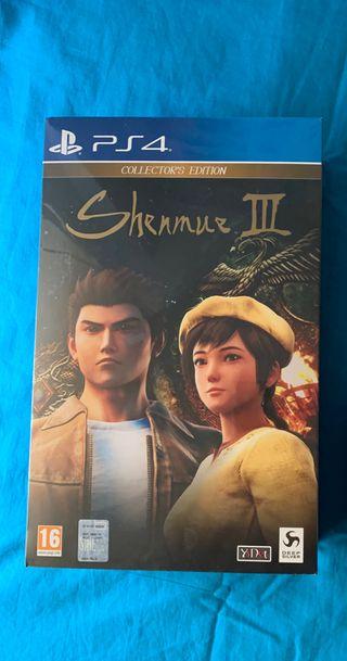 Shenmue 3 edición coleccionista PAL España