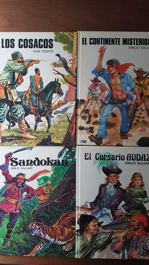 Lote 4 libros infantiles de aventuras