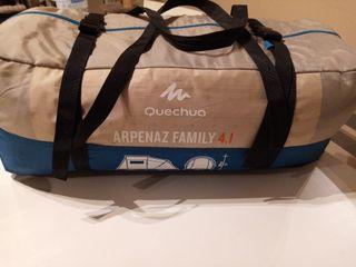 arpenaz family 4.1 tienda campaña