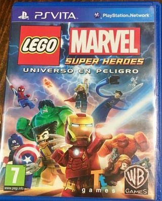 Juego Lego Marvel Súper Héroes Universo en Peligro