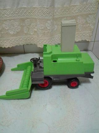 playmobil cosechadora,para restaurar